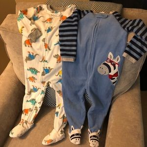 Fleece Footie Pajama Bundle